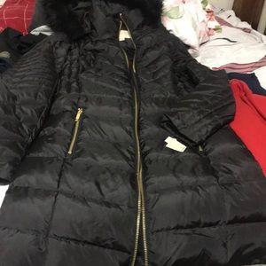 MK coat black